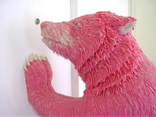 عظمة فن النحت Pinkchewinggumart1