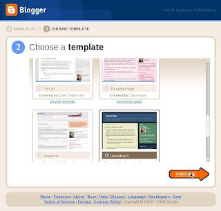 cara membuat blog step 5