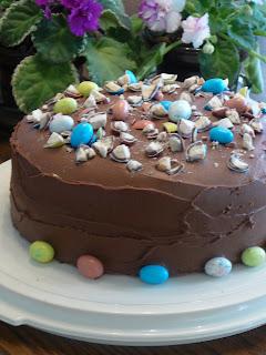 Malted-Milk Chocolate Cake
