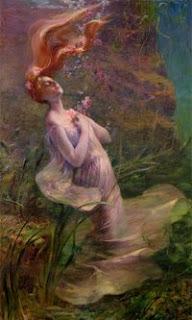 Ophelia Drowning (Paul Albert Steck, 1895)