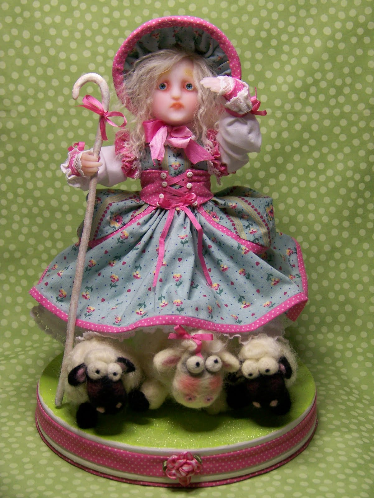 Woman's Best Friend: Little Bo Peep Knows Her Sheep