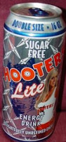 Hooters Lite Energy Drink