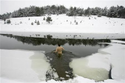 Icy dip
