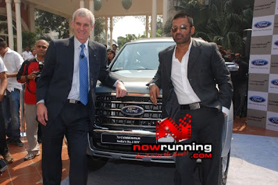 Sunil Shetty is the brand ambassador for Ford.