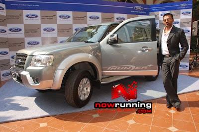 Sunil Shetty is the brand ambassador for Ford.