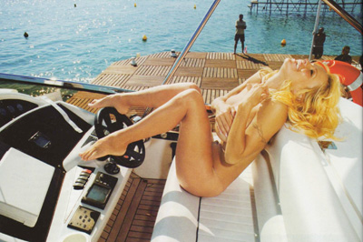 pamela anderson boat sex