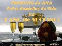 """Presente da Ana (Blog """"Pelos Caminhos da Vida"""""""