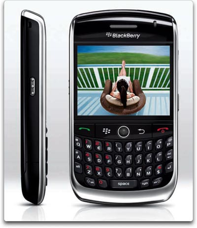 BlackBerry Curve 8900 Phone Black BlackBerry Curve 8900 Phone, Black (AT&T)