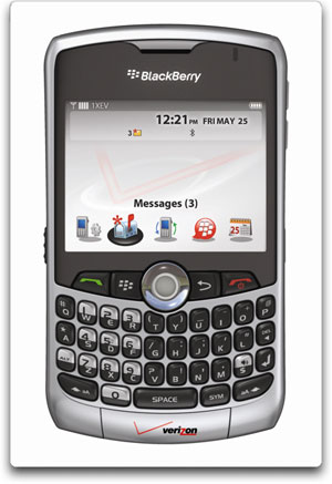 BlackBerry 8330 Silver Verizon Wireless BlackBerry Curve 8330 Phone, Silver (Verizon Wireless)