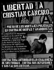 Another  compa leaves the state's death camps: Cristián Cancino on the  streets!!