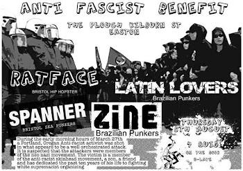 Bristol Anti-Fascists Demonstrate Practical Solidarity