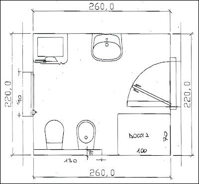 Bagno progetto perfect la vecchia cucina diventa bagno padronale ultime fasi del cantiere - Progettare un bagno piccolo ...