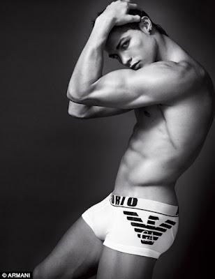 cristiano ronaldo armani underwear ad. Macho man: Cristiano Ronaldo
