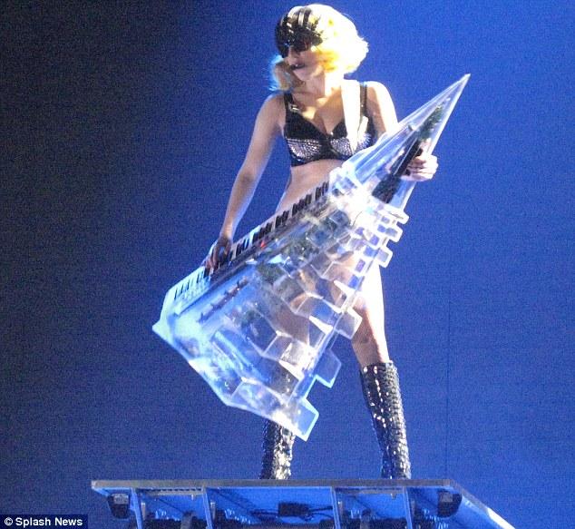 Lady Gaga Joanne World Tour Keytar