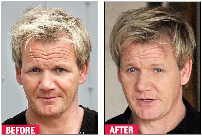 Gordon Ramsay is seen before
