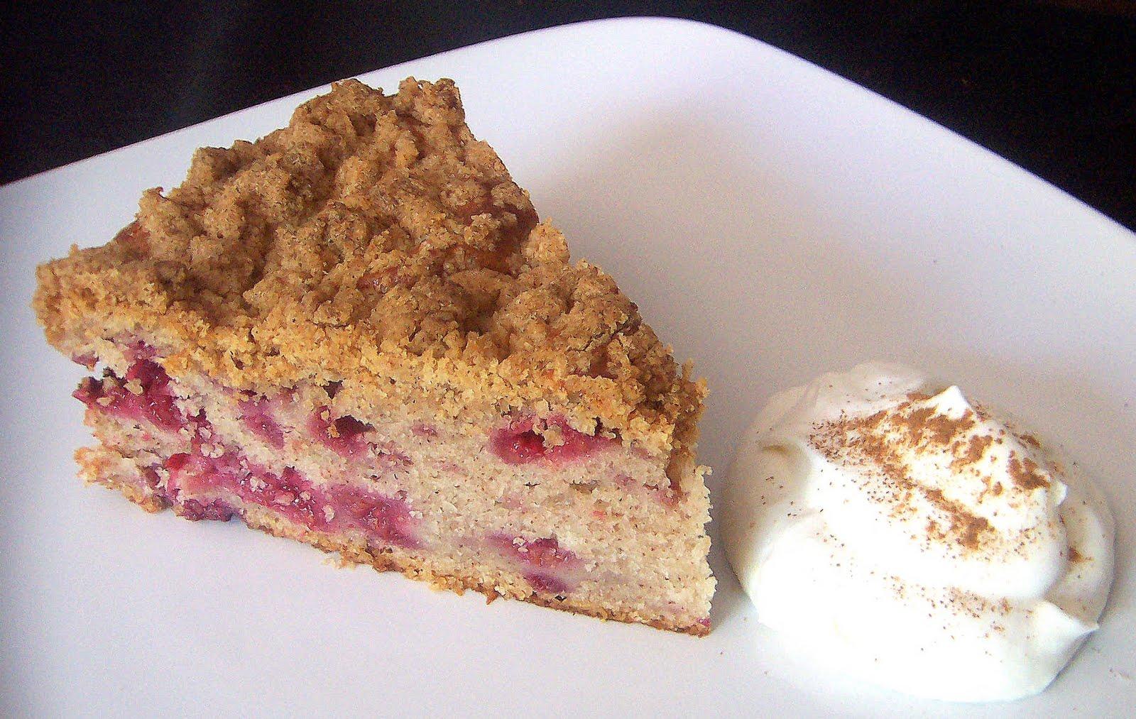 The Scone Gunman: Raspberry Crumb Cake