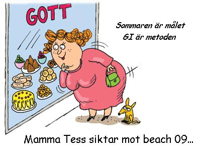 Mamma Tess siktar mot beach 09!
