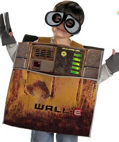 walle halloween costumes this is yet another adorable character from disneypixar this little cute silly sweet robot is a new addition to the halloween
