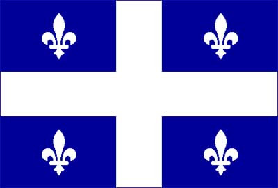 Flag of the Province of Quebec