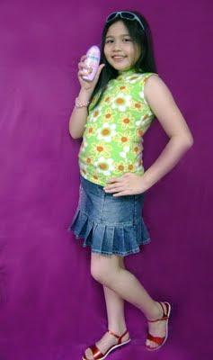 palmolive fashion girl contest