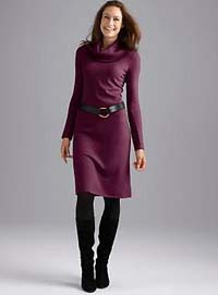 fashion sweater dress