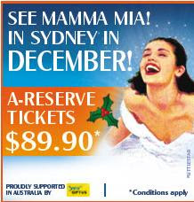 mamma mia movie sydney musical