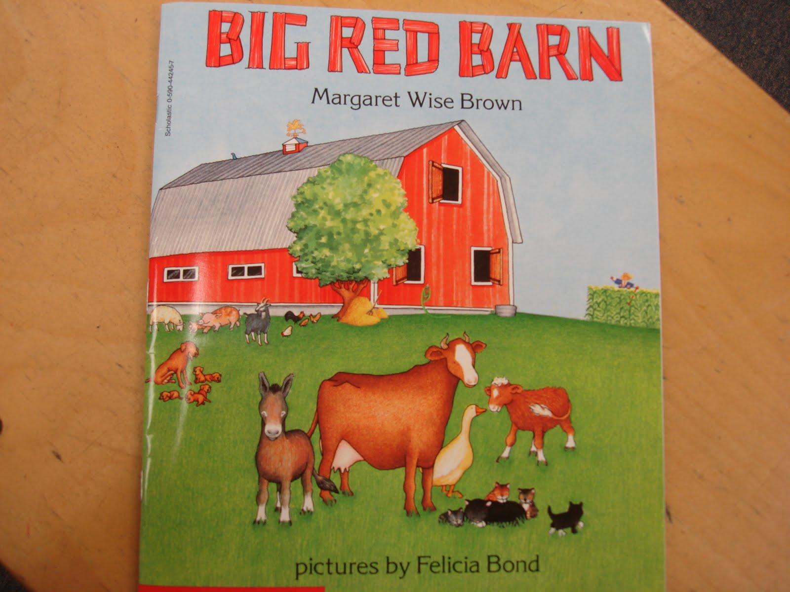 Big Red Barn Margaret Wise Brown Coloring Pages - Worksheet ...
