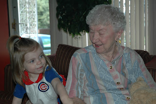 Hanging with Great-Gramma
