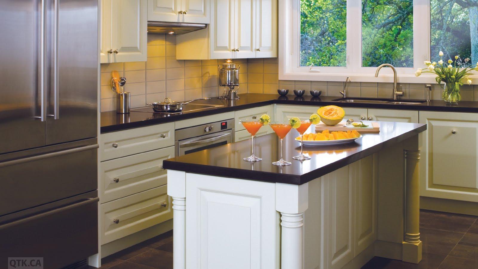 The Velvet glass and stainless hood  courtesy of QTK Kitchens