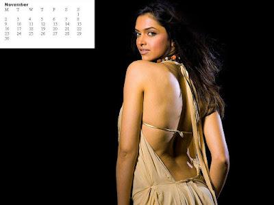 calendar 2009 wallpaper. Padukone Calendar 2009,