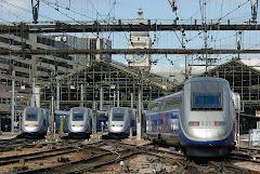 Trenes de Alta Velocidad de los ferrocarriles franceses
