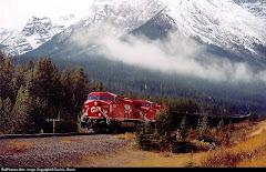 Locomotora GE AC4400CW de la Canadian Pacific Railroad