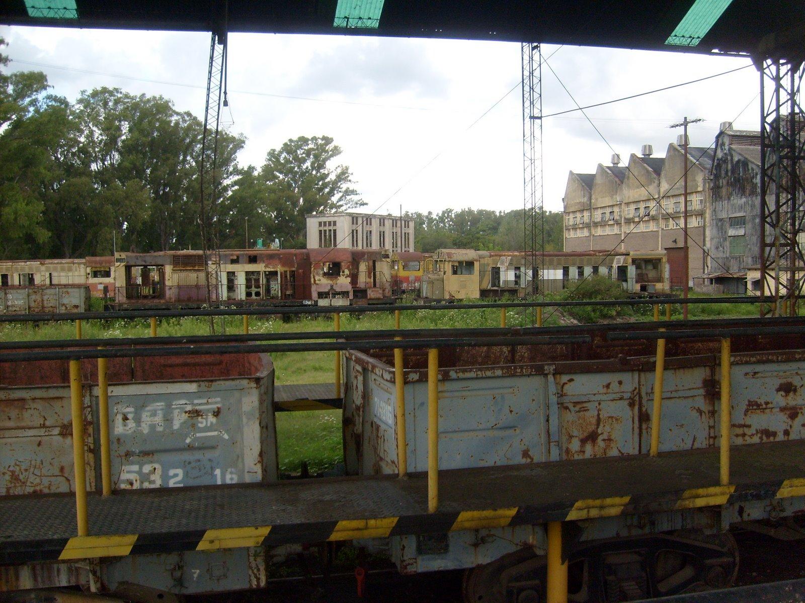 Cementerio de locomotoras