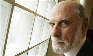 Vint Cerf, the father of the internet