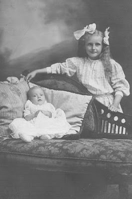Postcard Friendship Friday: Edith and Baby Hazel