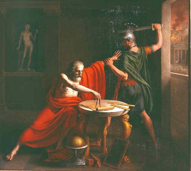 Mes Images La Mort D Archimede Tableau