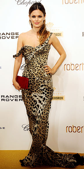Roberto Cavalli Leopard Cat Eye Sunglasses