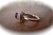 Ring Silber925/Turmalin