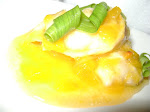 ALGUNS PRATOS DEGUSTADOS - RAVIOLI DE PEIXE COM CHUTNEY DE FRUTAS AMARELAS, COM MARIWIT GRAND CRU