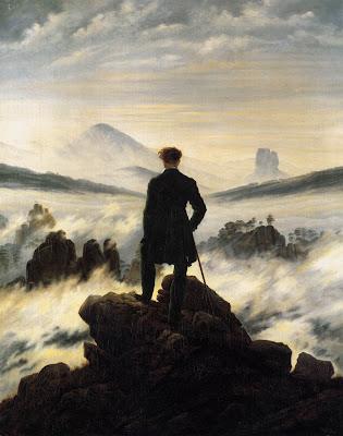 The Handke-Effekt brings the wanderer back down below the mists.