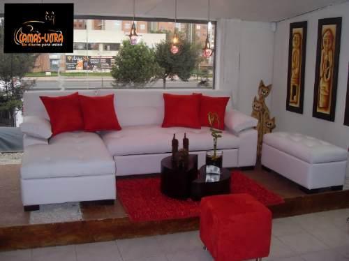 F brica de muebles rosmil sof s for Juego de muebles para sala modernos