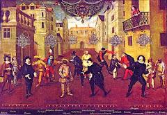 Farsantes Franceses e Italianos. Atribuído a Verio 1670 / Comédie Française