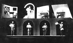 Vestido de Noiva, Dir. de Z. Ziembinski e Cenários de Santa Rosa, 1943