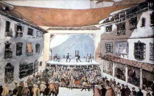 Teatro del Principe: Corrales