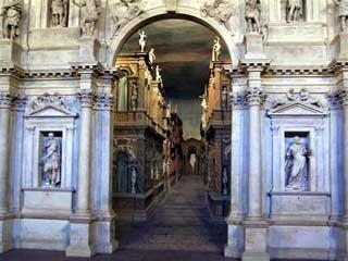Teatro Olimpico de Vicenza, Itália