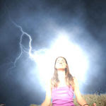 Lightning Stroke Photo Effect