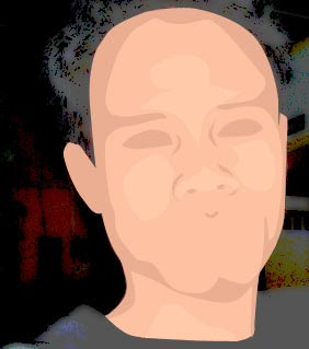 tutorial photoshop trace efek kartun KBG