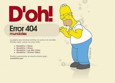 404 Error Pages Terbaik
