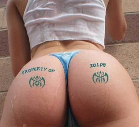 15 Hilarious Butt Tattoos