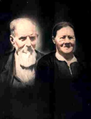 John William Terrell (1853-1936) and Ida Florence Rudd Terrell